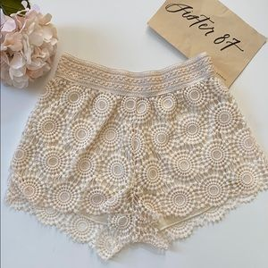 Japan Lace Shorts
